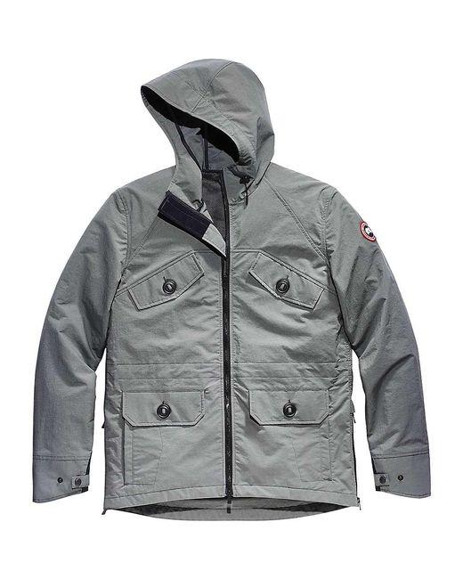 c1ae150f077ab switzerland canada goose brookvale hoody down jacket mens m65 6a68e ...