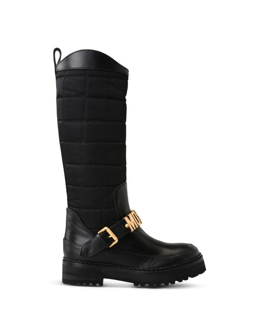 Moschino | Black Boots | Lyst
