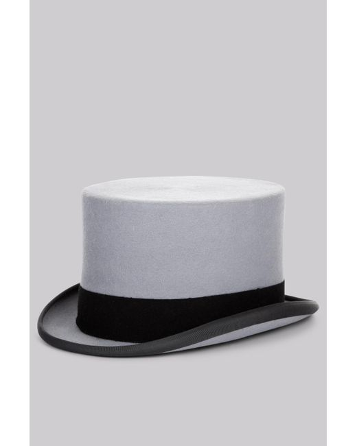 dcbcdef508cb7a Moss Bros . Grey Ascot Top Hat in Gray for Men - Lyst