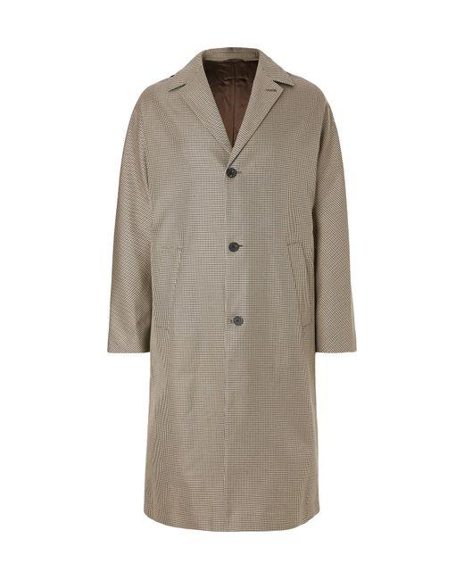 Joseph - Natural Albert Oversized Houndstooth Cotton-twill Coat for Men - Lyst