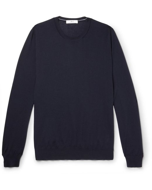 Mr P. - Blue Cashmere Sweater for Men - Lyst