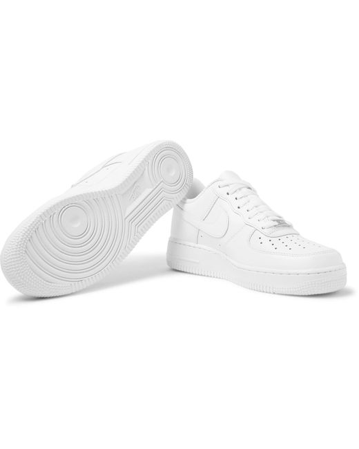 Nike White Air Force 1 '07 Leather Sneakers for men