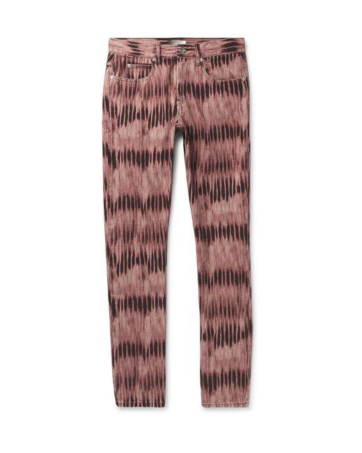 Isabel Marant Multicolor Jack Slim-fit Tie-dyed Denim Jeans for men