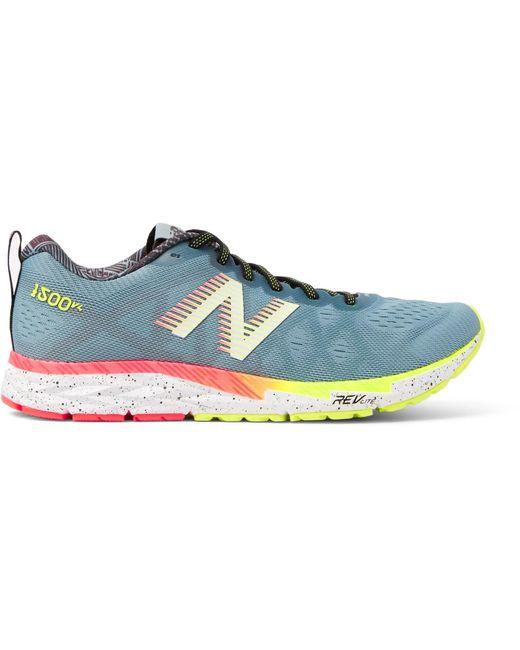 New Balance - Blue 1500v2 Mesh Running Sneakers for Men - Lyst