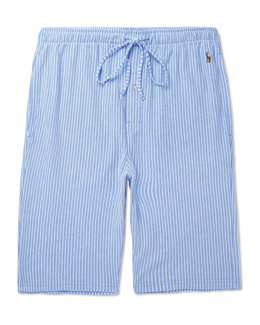 Polo Ralph Lauren   Blue Striped Cotton Pyjama Shorts for Men   Lyst