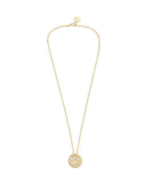 Versace - Metallic Gold-tone Necklace for Men - Lyst