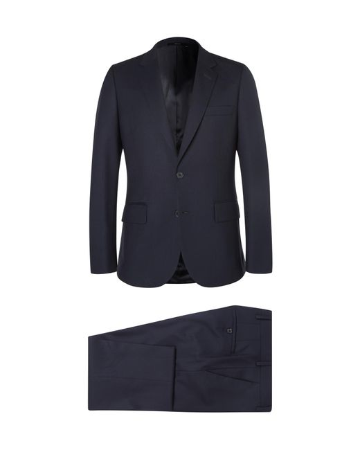 Paul Smith | Blue Navy A Suit To Travel In Soho Slim-fit Wool Suit for Men | Lyst