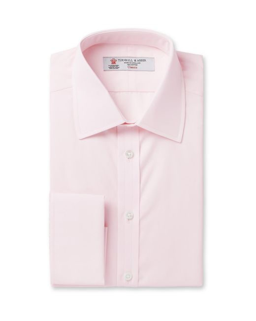 Turnbull & Asser   Pink Double-cuff Cotton Shirt for Men   Lyst