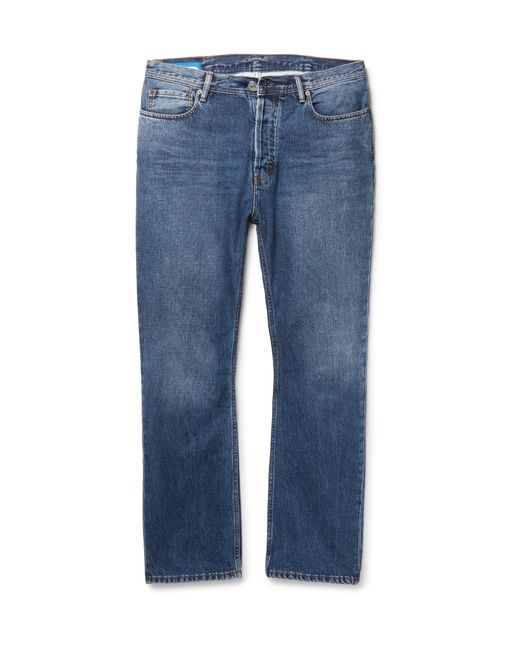 Acne | Blue Land Denim Jeans for Men | Lyst