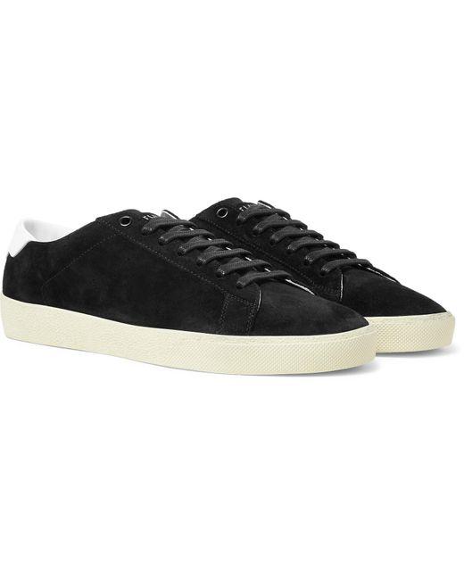 Saint Laurent Black Court Classic Sneakers for men