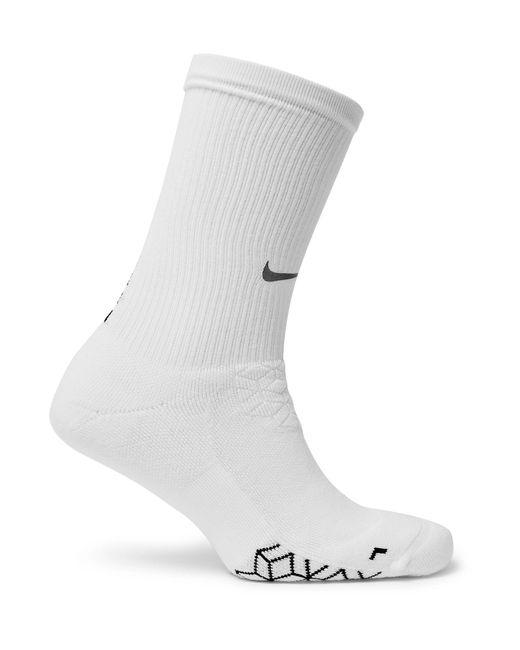 Nike | White Elite Cushioned Dri-fit Socks for Men | Lyst