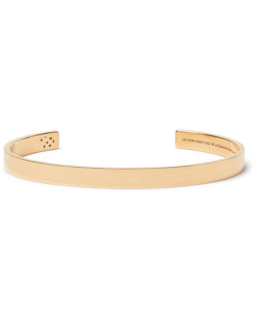 Le Gramme - Metallic Le 21 18-karat Gold Cuff for Men - Lyst