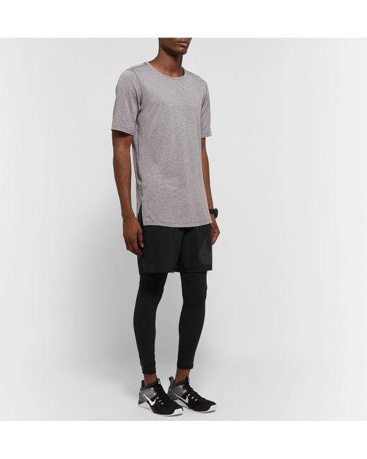 fb193328ca79 ... Nike - Black Pro Dri-fit Tights for Men - Lyst ...