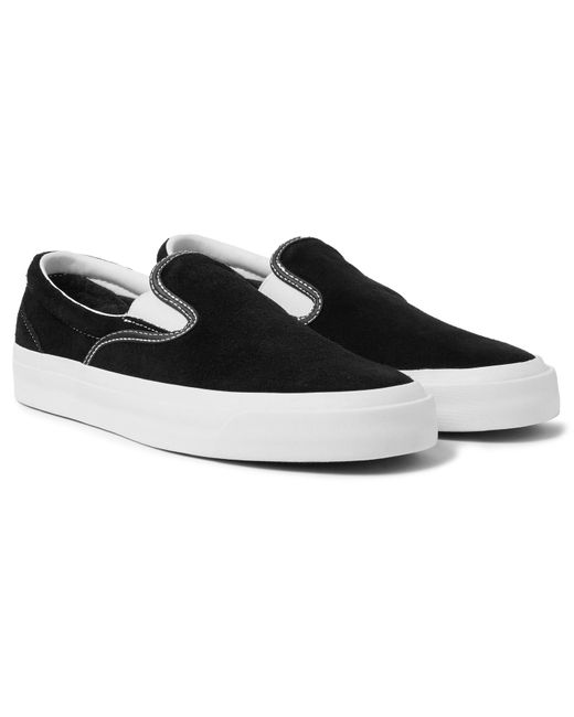 7c1b1f1ce013 Converse - Black One Star Cc Suede Slip-on Sneakers for Men - Lyst ...