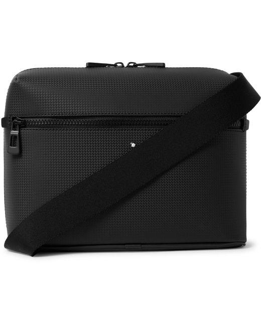 Montblanc Black Extreme 2.0 Textured-leather Messenger Bag for men
