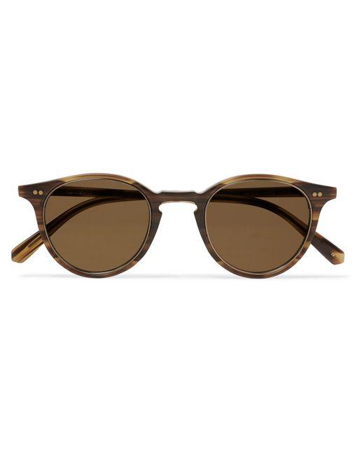 Mr. Leight Multicolor Marmont S Round-frame Tortoiseshell Acetate And Gold-tone Titanium Sunglasses for men