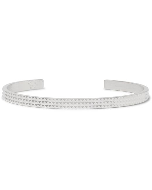 Le Gramme | Metallic Le 13 Guilloché Studded Sterling Silver Cuff for Men | Lyst