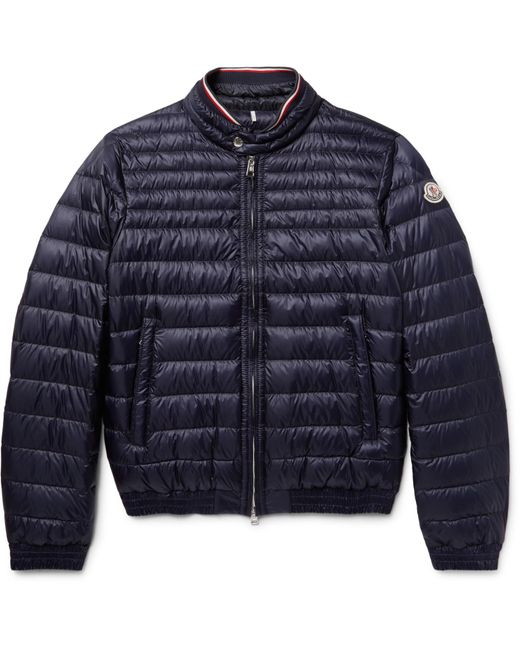 Moncler | Blue Garin Quilted Shell Down Jacket for Men | Lyst