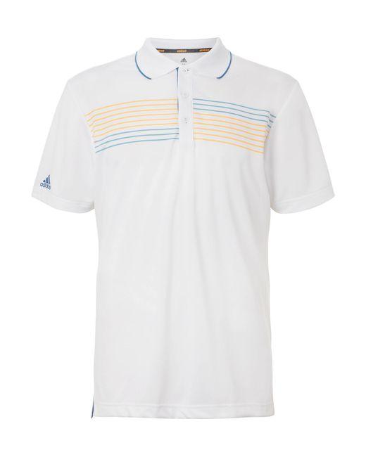 Lyst Adidas Originals Essentials Printed Jersey Golf Polo Shirt In