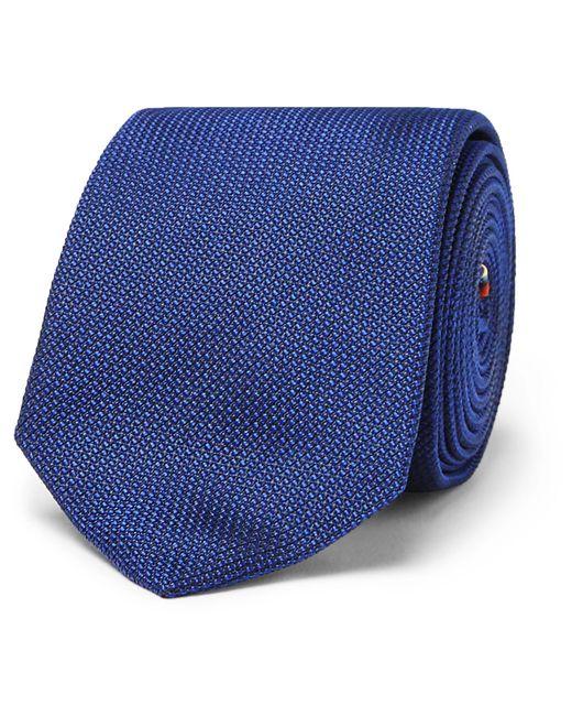 Paul Smith | Blue 6cm Woven Silk Tie for Men | Lyst