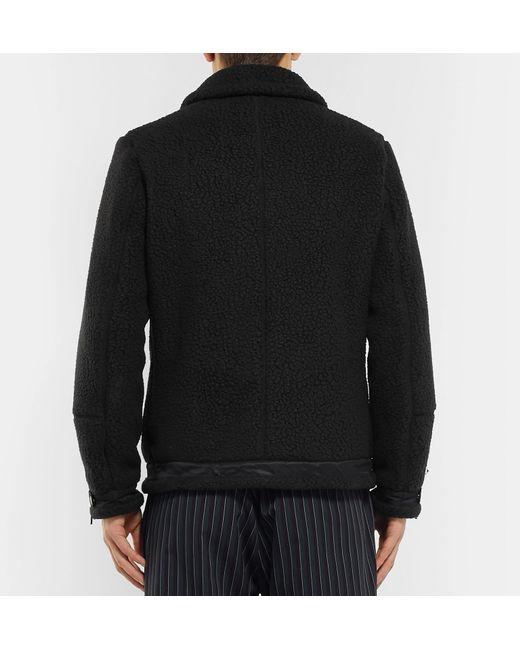 Black Lyst Fleece Trimmed For Men Polartec Neighborhood Jacket Shell 8wAp8d
