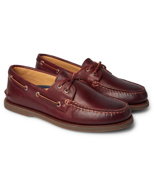 Sperry Top-Sider Multicolor Gold Cup Leather Boat Shoes for men