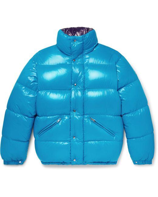 Moncler | Blue Dejan Quilted Shell Hooded Down Jacket for Men | Lyst