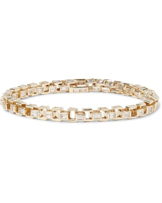 Luis Morais | Metallic Gold Diamond Link Bracelet for Men | Lyst