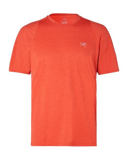 Arc'teryx Orange Cormac Ostria T-shirt for men