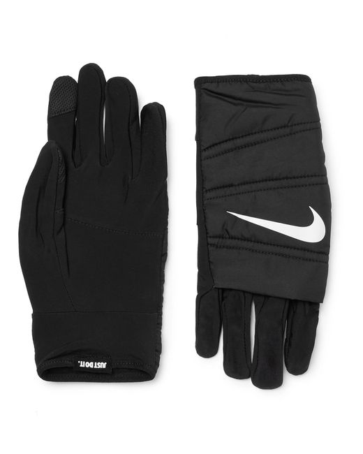 Nike - Black Quilted Training Gloves for Men - Lyst