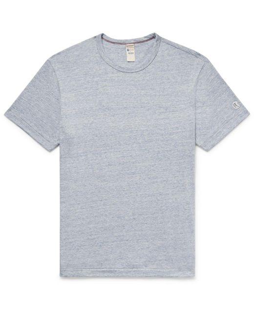 Todd Snyder - Blue Mélange Cotton-blend Jersey T-shirt for Men - Lyst