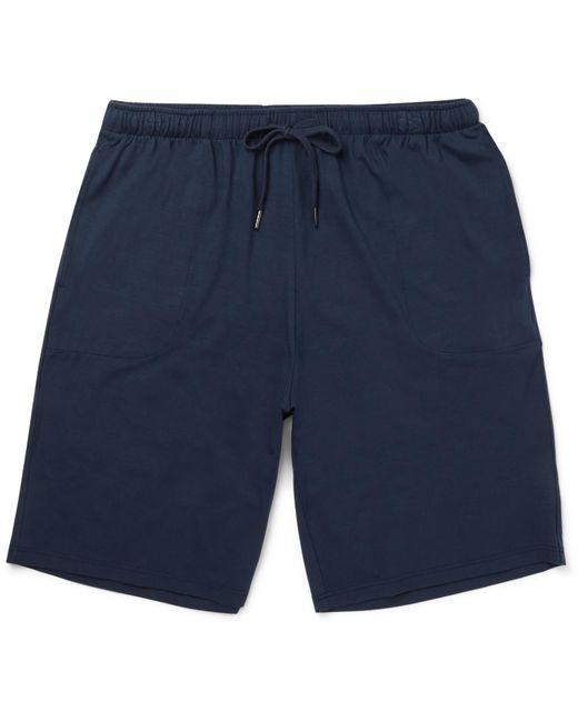 Derek Rose - Blue Stretch Micro Modal Jersey Lounge Shorts for Men - Lyst