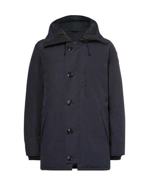 Canada Goose - Blue Chateau Shell Hooded Down Parka for Men - Lyst