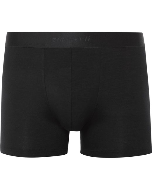 Zimmerli - Black Pureness Stretch-micro Modal Boxer Briefs for Men - Lyst