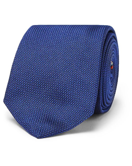 Paul Smith | Blue 6cm Woven Silk Tie for Men | Lyst