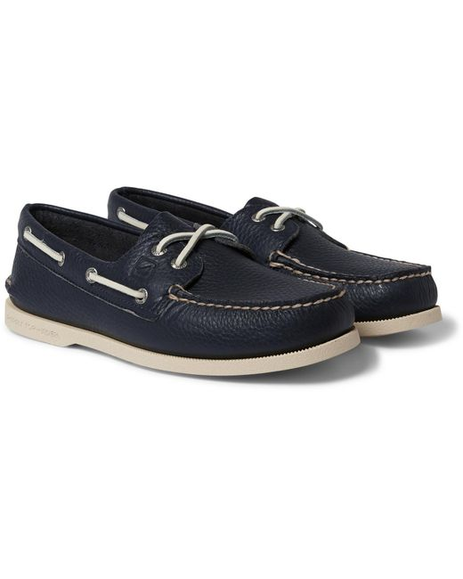 Sperry Top-Sider | Blue Authentic Original Leather Boat Shoes for Men | Lyst