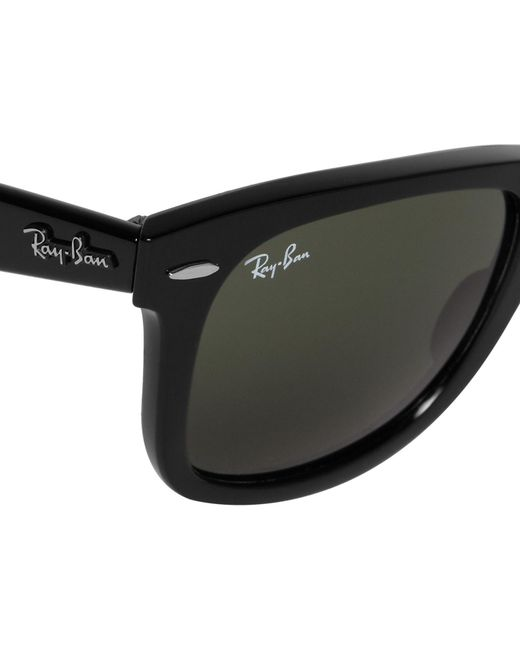 f90ee6d0e59 ... Ray-Ban - Metallic Original Wayfarer Acetate Sunglasses for Men - Lyst  ...