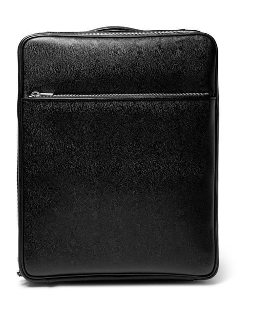 Valextra | Black Pebble-grain Leather Carry-on Case for Men | Lyst