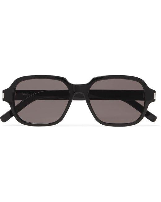 8b518f74c2ed Lyst - Saint Laurent Square-frame Acetate Sunglasses in Black for Men