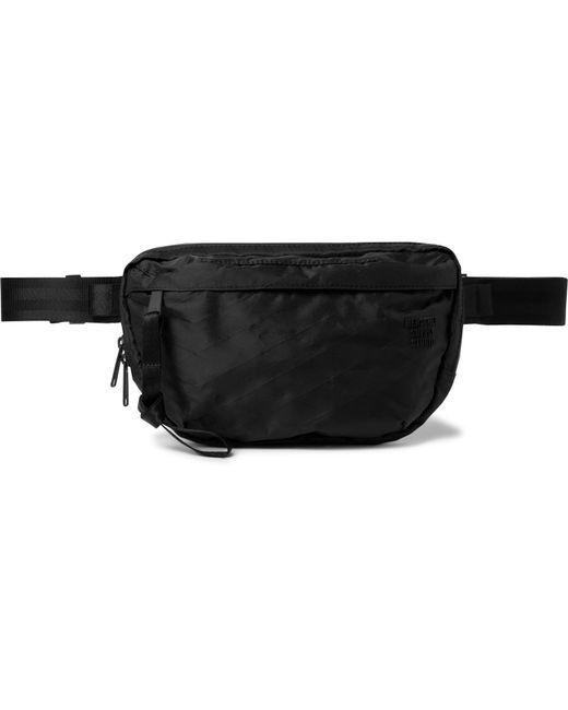 Herschel Supply Co. Black Studio Nineteen Sailcloth Belt Bag for men