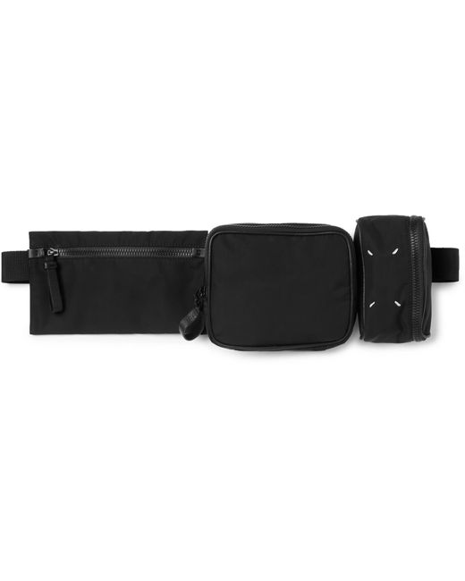 Maison Margiela Black Shell Belt Bag for men