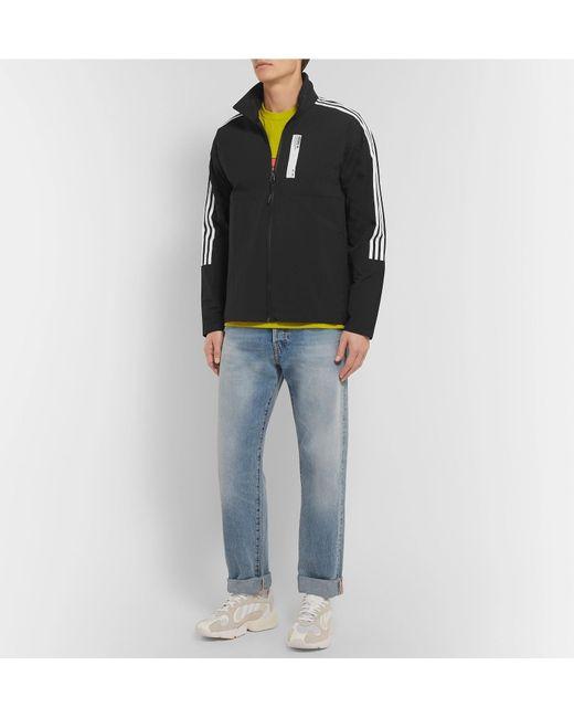 bd9752cd52424 ... Adidas Originals - Black Nmd Striped Shell Track Jacket for Men - Lyst  ...