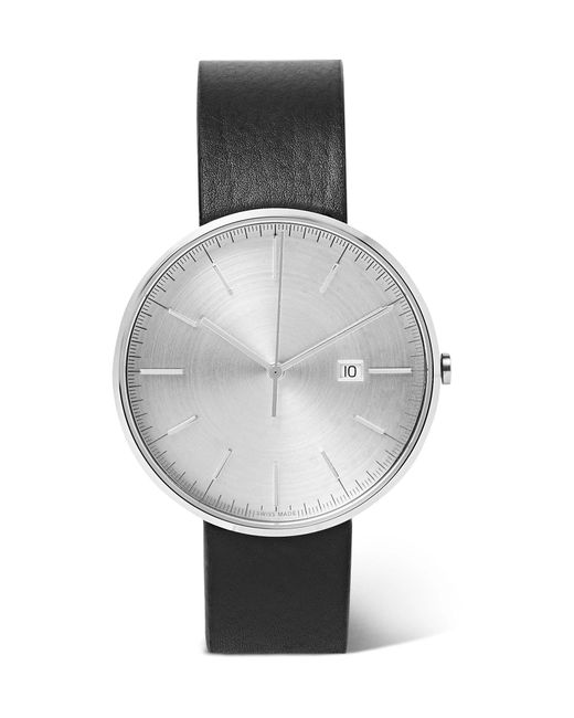 Uniform Wares - Metallic M40 Precidrive Stainless Steel And Leather Watch for Men - Lyst