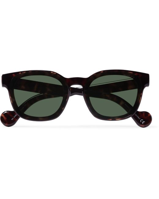 ffe007aaec5 Lyst - Moncler Square-frame Tortoiseshell Acetate Sunglasses in ...