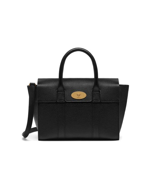 Mulberry - Black Small Bayswater Satchel Bag - Lyst