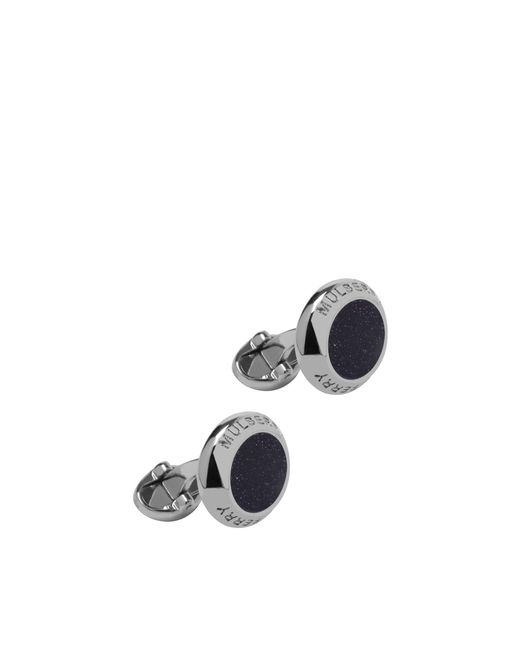 Mulberry Coin Cufflinks In Blue Goldstone for men