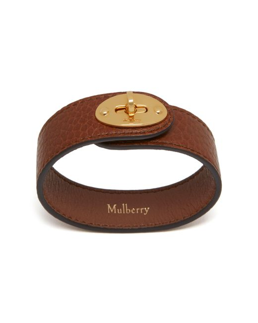 Mulberry | Multicolor Bayswater Leather Bracelet | Lyst