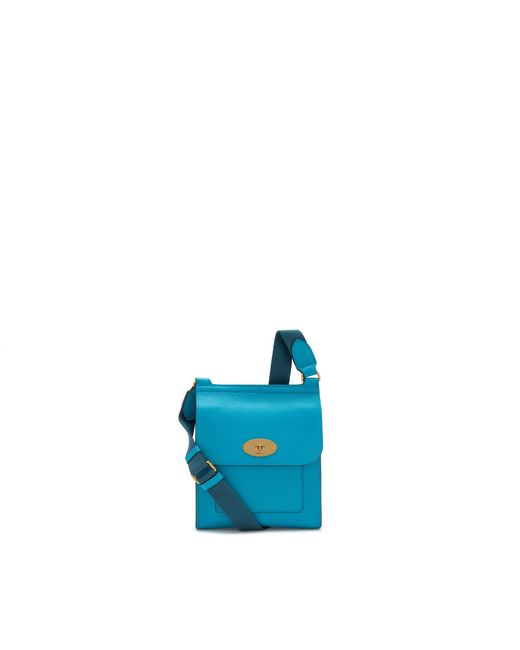 Mulberry - Blue Small Antony In Azure Small Classic Grain for Men - Lyst