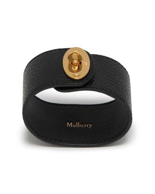 Mulberry - Black Large Bayswater Bracelet - Lyst