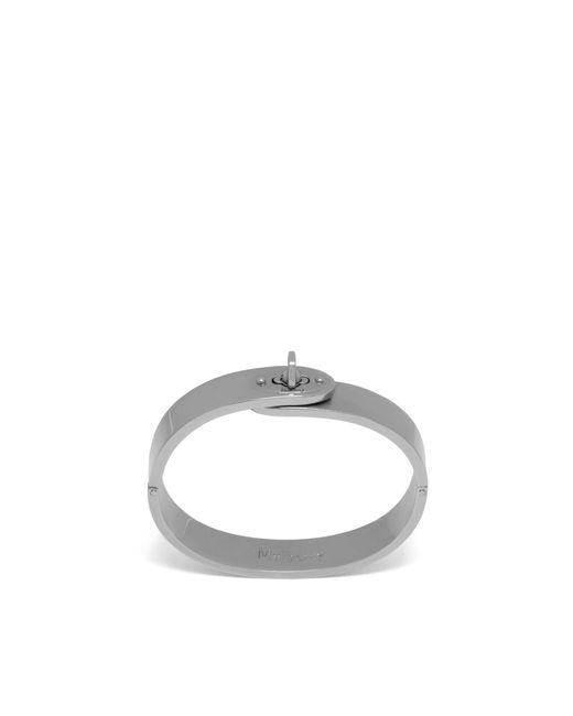 Mulberry - Metallic Bayswater Metal Slim Bracelet In Silver Antique Style Metal - Lyst